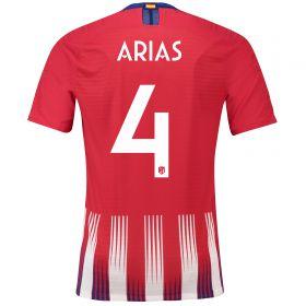 Atlético de Madrid Home Cup Vapor Match Shirt 2018-19 with Arias 4 printing