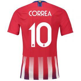 Atlético de Madrid Home Cup Vapor Match Shirt 2018-19 with Correa 11 printing