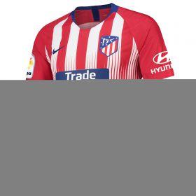 Atlético de Madrid Home Vapor Match Shirt 2018-19 with Diego Costa 18 printing