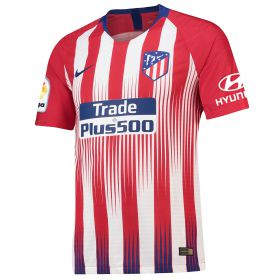 Atlético de Madrid Home Vapor Match Shirt 2018-19 with Saúl 8 printing