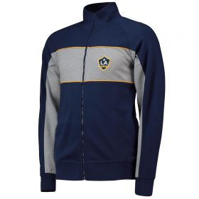 LA Galaxy Cut And Sew Track Jacket - Navy - Mens