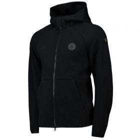Manchester City Authentic Tech Fleece Hoodie - Black