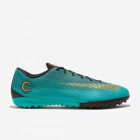 Nike Mercurial VaporX 12 Academy CR7 Astroturf Trainers - Green