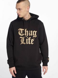 Thug Life / Hoodie Tight in black