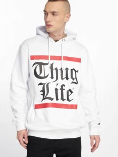 Thug Life / Hoodie B.Gothic in white