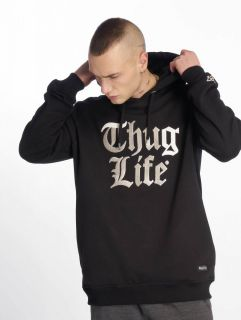 Thug Life / Hoodie Ssiv in black