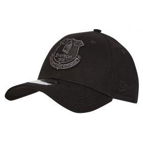 Everton New Era 9Forty Crest Cap - Black - Adult