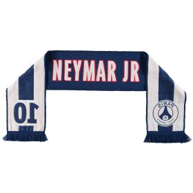 Paris Saint-Germain Neymar Jr Player Scarf - Navy - Adult