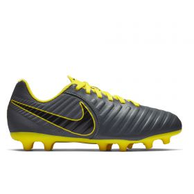 Nike Tiempo Legend 7 Club Firm Ground Football Boots - Grey - Kids