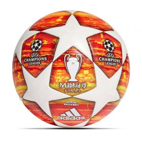 adidas UEFA Champions League Final Madrid Official Match Football - White
