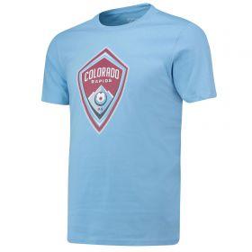 Colorado Rapids Core T Shirt - Sky - Mens