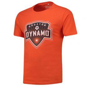 Houston Dynamo Core T Shirt - Orange - Mens