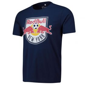 New York Red Bulls Core T Shirt - Navy - Mens