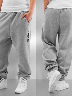Dangerous DNGRS / Sweat Pant Soft Dream Leila Ladys Logo in grey