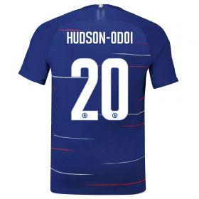 Chelsea Home Vapor Cup Match Shirt 2018-19 with Hudson-Odoi 20 printing