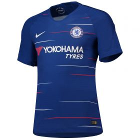 Chelsea Home Vapor Match Shirt 2018-19 with Marcos A. 3 printing