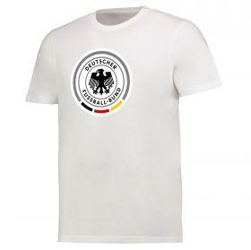 DFB Large Logo T Shirt - White - Mens