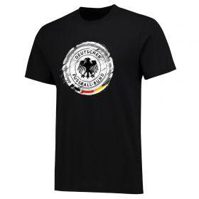 DFB Splatter T Shirt - Black - Mens