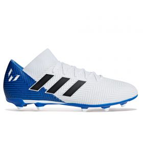 adidas Nemeziz Messi 18.3 Firm Ground Football Boots - White