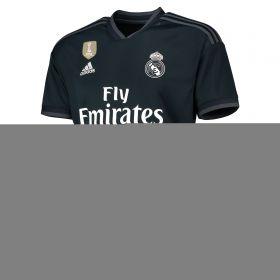 Real Madrid Away Shirt 2018-19 with M. Llorente 18 printing
