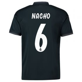 Real Madrid Away Shirt 2018-19 with Nacho 6 printing