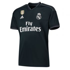 Real Madrid Away Shirt 2018-19 with Vallejo 3 printing