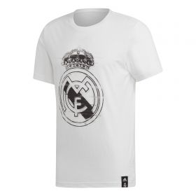 Real Madrid DNA Graphic T-Shirt - White