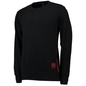 Manchester United Crew Sweater - Black
