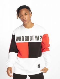 Who Shot Ya? / Jumper Block in white