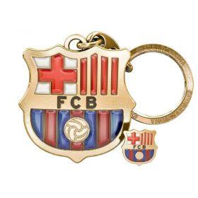 Ключодържател и Значка BARCELONA Metal Keyring Clauer with Badge