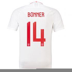 England Home Vapor Match Shirt 2018 - Mens with Bonner 14 printing