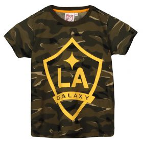 LA Galaxy Camo Short Sleeve T-Shirt - Khaki - Kids