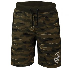 LA Galaxy Camo Sweat Short - Khaki - Mens