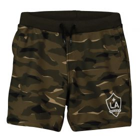 LA Galaxy Camo Sweat Shorts - Khaki - Kids