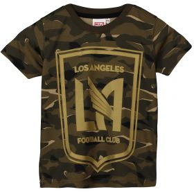 Los Angeles FC Camo Short Sleeve T-Shirt - Khaki - Kids