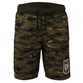 Los Angeles FC Camo Sweat Short - Khaki - Mens