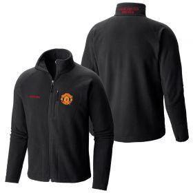 Manchester United Columbia Fast Trek II Full Zip Fleece Jacket - Black - Mens