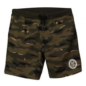 New York City FC Camo Sweat Shorts - Khaki - Kids