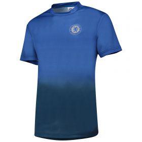 Chelsea Gradient Poly T-Shirt - Royal - Mens