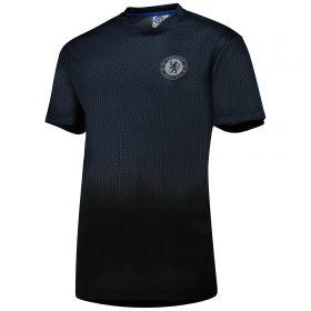 Chelsea Poly T-Shirt - Black - Mens