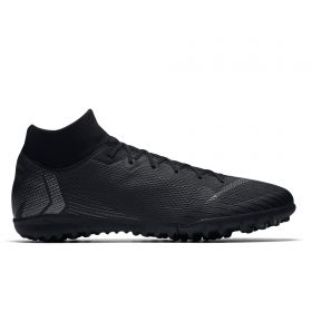 Nike MercurialX Superfly 6 Academy Astroturf Trainers - Black