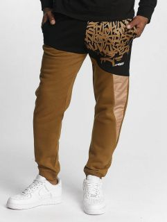 Dangerous DNGRS / Sweat Pant AlphaMark in brown
