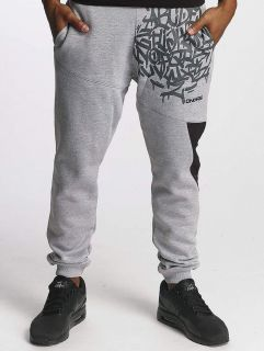 Dangerous DNGRS / Sweat Pant AlphaMark in grey