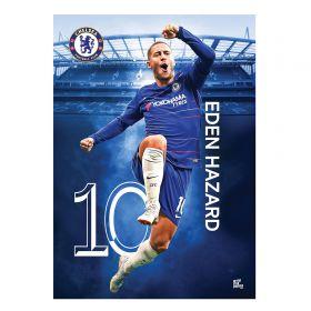 Chelsea 2018-19 Hazard Poster