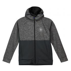 Chelsea Panelled Poly Track Jacket - Grey - Infant Boys