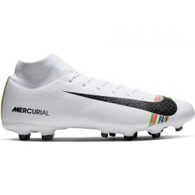 Nike Mercurial Level Up Superfly 6 Academy Firm Ground Football Boots - White