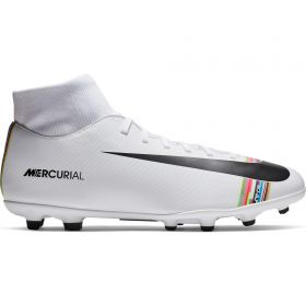 Nike Mercurial Level Up Superfly 6 Club Firm Ground Football Boots - White