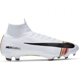 Nike Mercurial Level Up Superfly 6 Pro Firm Ground Football Boots - White