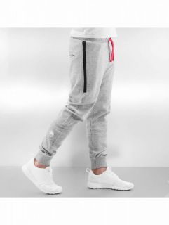 Just Rhyse / Sweat Pant Big Pocket in grey