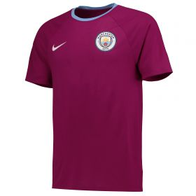 Manchester City Match T-Shirt - Maroon